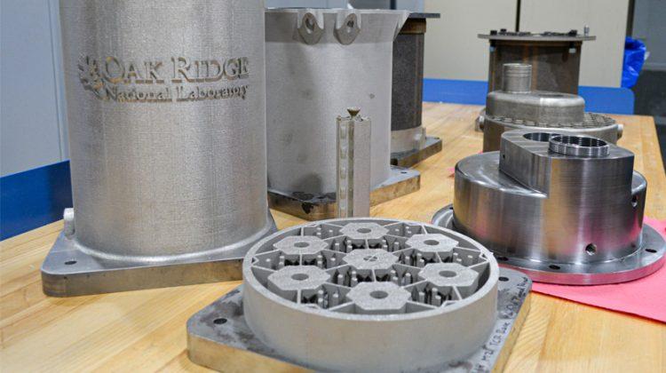 پرینت سه بعدی راکتور هسته ای