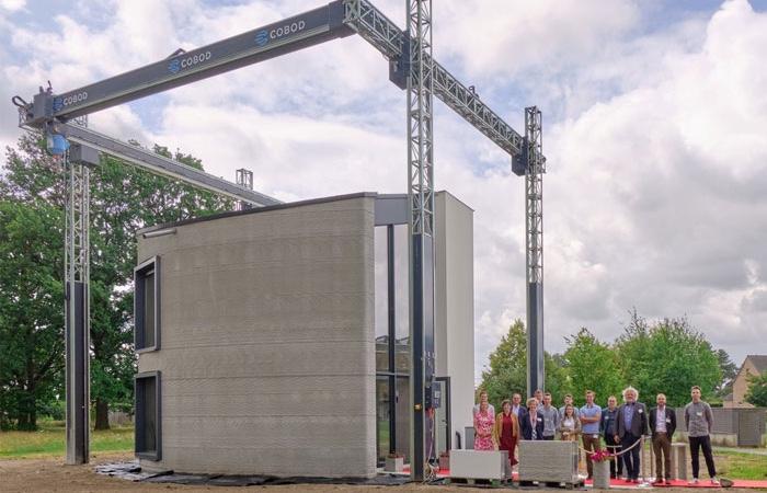 ساخت سازه ای در بلژیک با استفاده از تکنولوژی پرینت سه بعدی