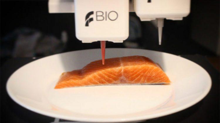 پرینت سه بعدی بافت گیاهی جایگزین ماهی سالمون
