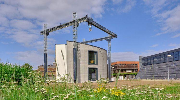 پرینت سه بعدی ساختمانی در بلژیک