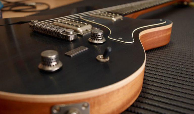 پرینت سه بعدی گیتار الکتریکی