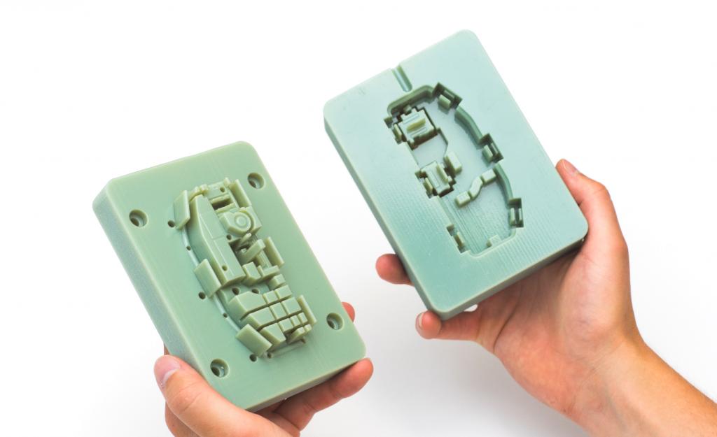 پرینت سه بعدی نمونه اولیه قالب های تزریق