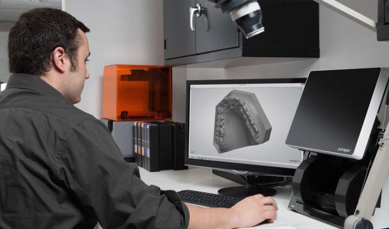 پرینت سه بعدی در صنعت دندانپزشکی