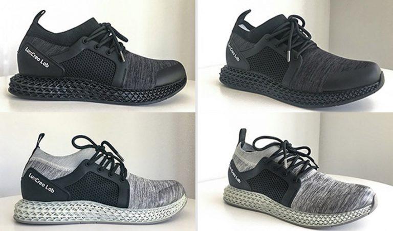 پرینت سه بعدی کفش ورزشی ضد آب و قابل تنفس