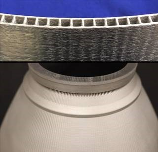 فرایند پرینت سه بعدی موتور موشک