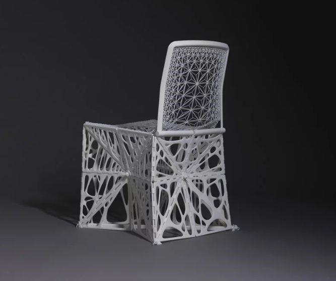 پرینت سه بعدی صندلی مدرن تاشو و قابل حمل