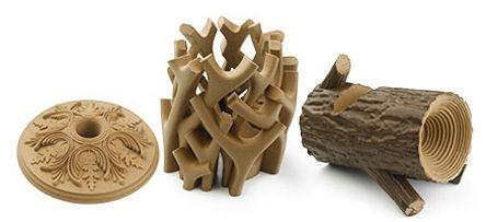 فیلامنت پرینت سه بعدی چوب