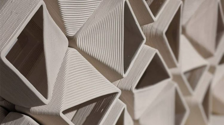 پرینت سه بعدی بلوک های سرامیکی
