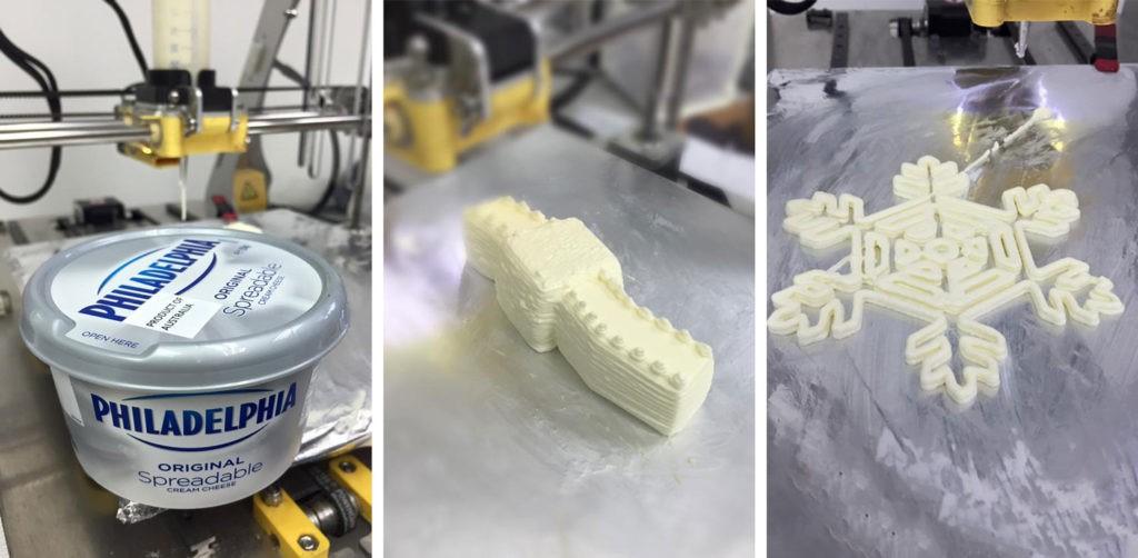 استفاده از تکنولوژی پرینت سه بعدی در صنایع غذایی