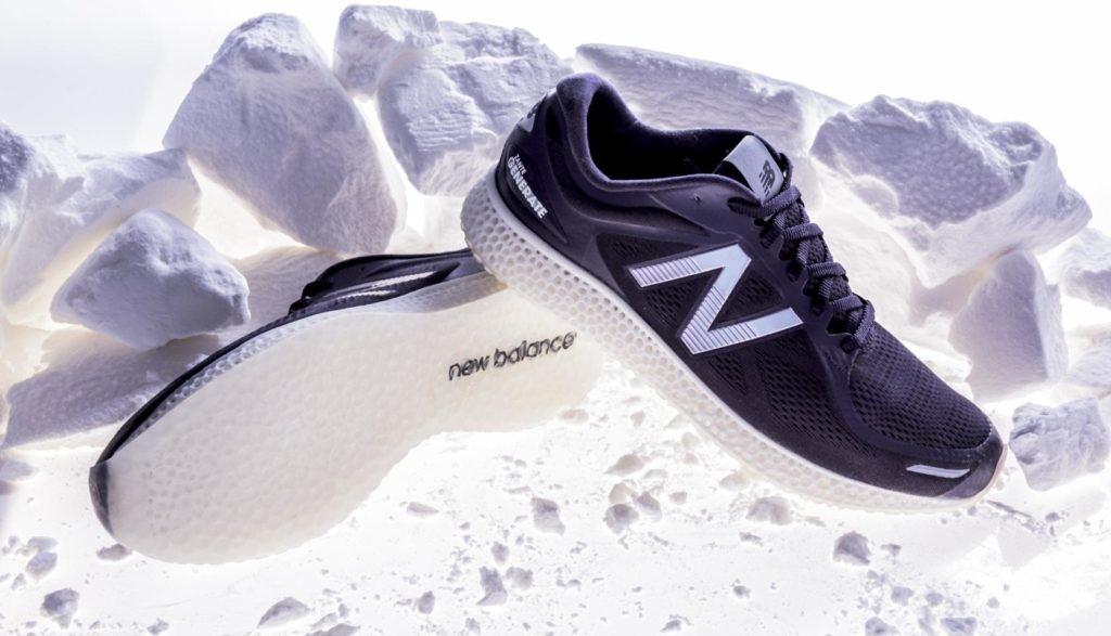 استفاده از پرینت سه بعدی برای طراحی کفش توسط شرکت New Balance