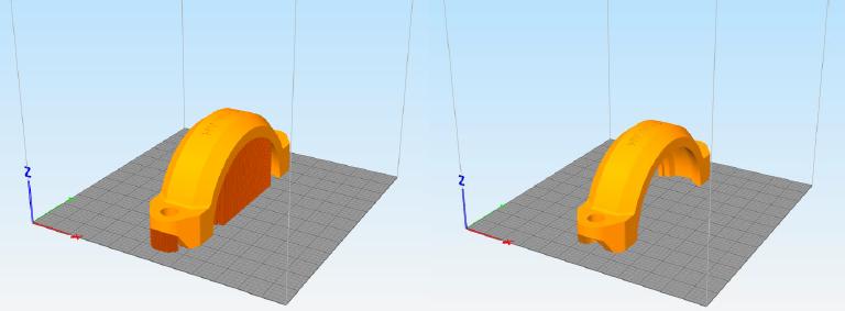 ضرورت جانمایی صحیح قطعه روی صفحه کار در روش پرینت سه بعدی FDM