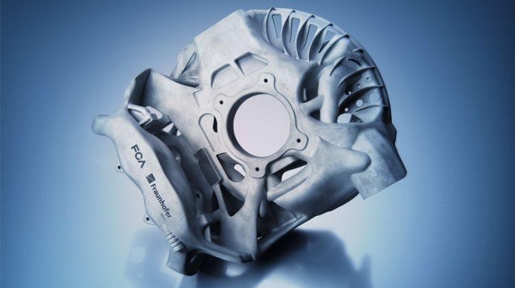 پرینت سه بعدی سیستم تعلیق یک خودرو اسپرت