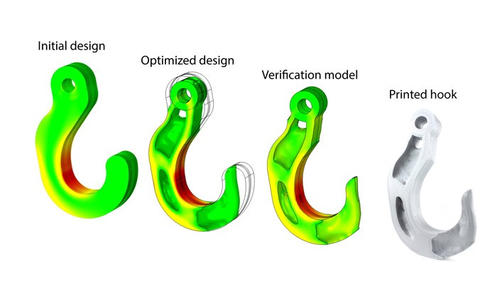 مراحل طراحی در بهینه سازی توپولوژی