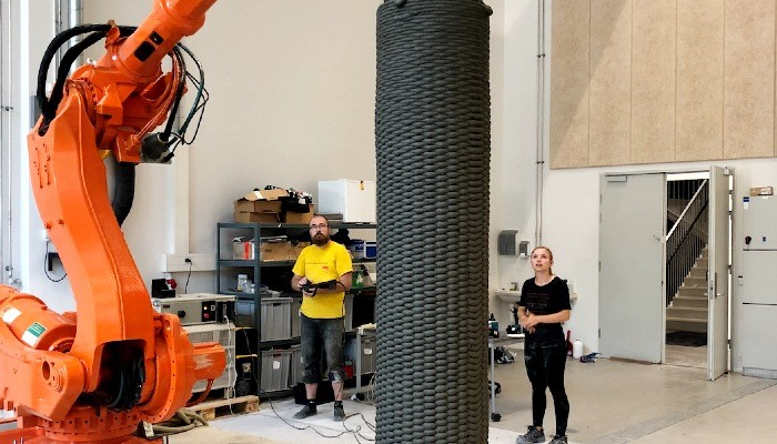 مواد پرینت سه بعدی در صنعت معماری