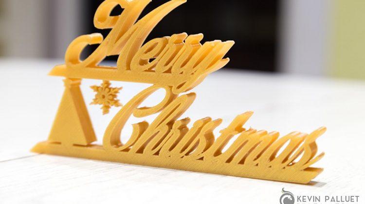 پرینت سه بعدی لوازم دکوری کریسمس