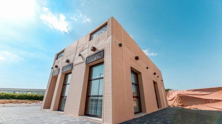 پرینت سه بعدی یک ویلا در امارات