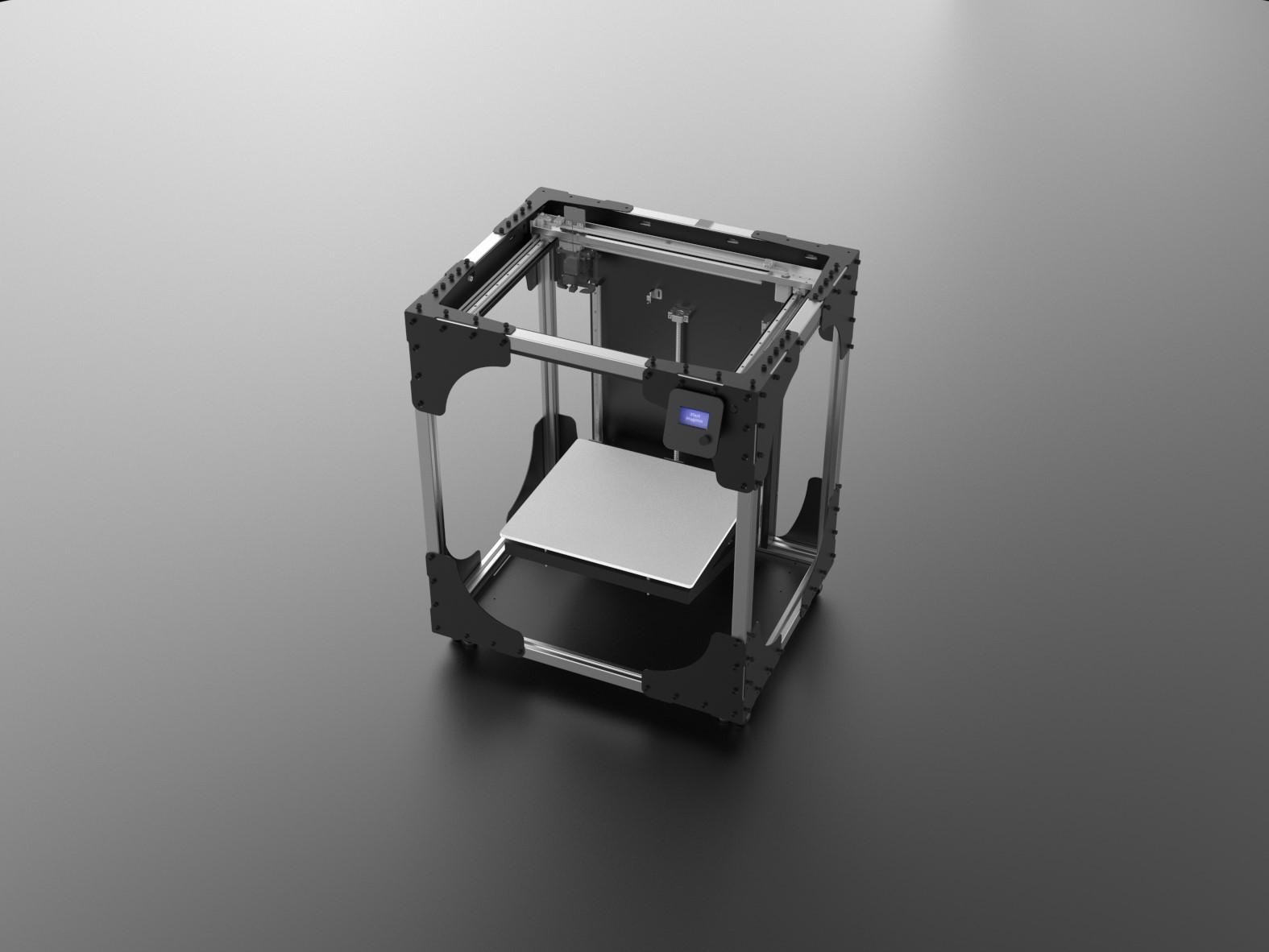 پرینتر سه بعدی FDM تک نازله شرکت آیدیزاین