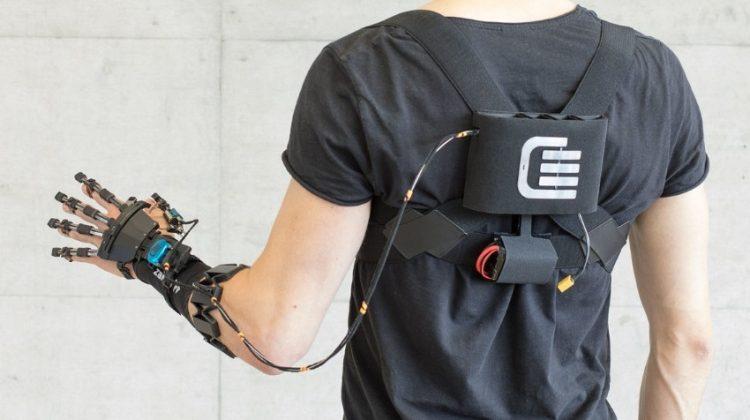 پرینت سه بعدی یک ربات پوشیدنی توانبخشی