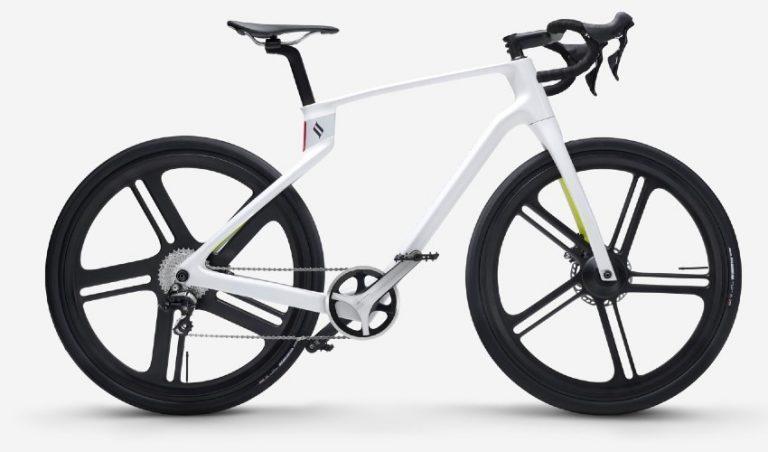 پرینت سه بعدی یک دوچرخه فیبر کربنی
