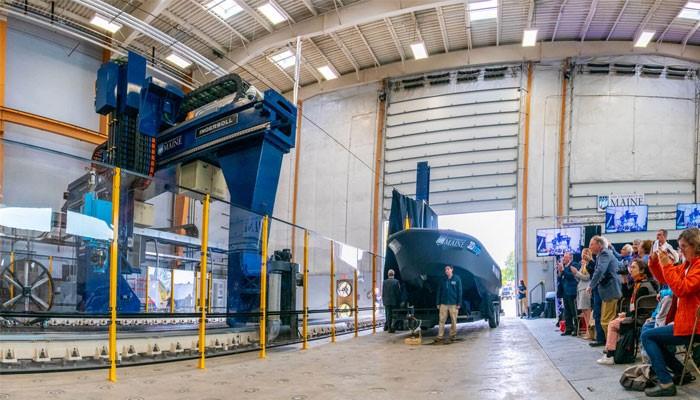 ساخت یک قایق با استفاده از بزرگترین پرینتر سه بعدی جهان