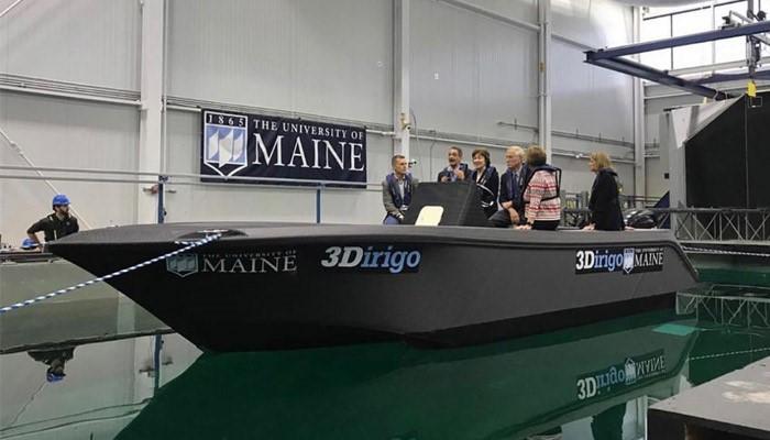 فرایند ساخت بزرگترین قایق پرینت سه بعدی شده