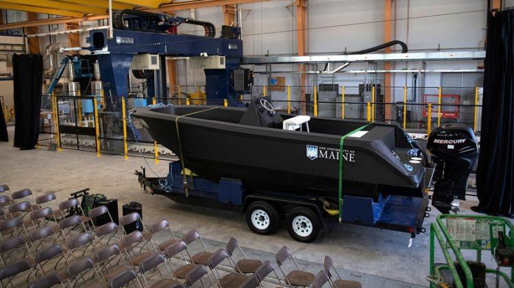 پرینت سه بعدی بزرگترین قایق