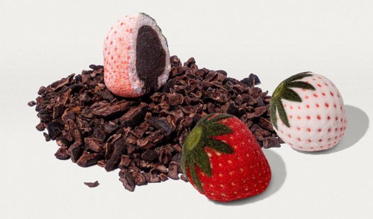 پرینت سه بعدی شکلات های ولنتاین