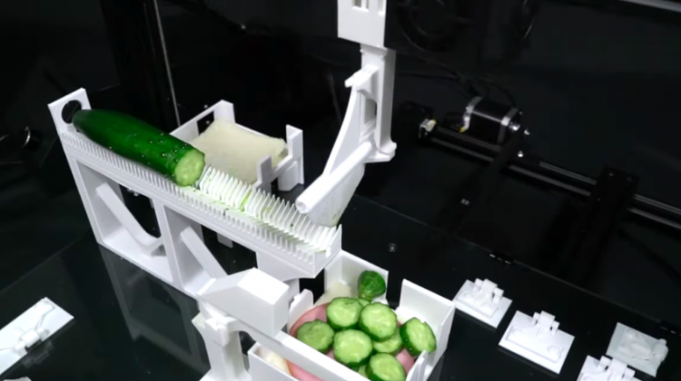 ساخت دستگاهی جهت پرینت سه بعدی و مونتاژ