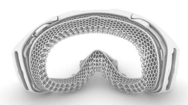 پرینت سه بعدی عینک اسکی