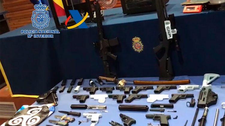 کشف کارگاه اسلحه های غیرقانونی پرینت سه بعدی شده در اسپانیا