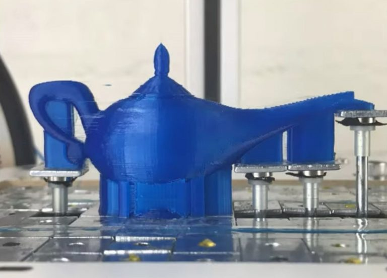 تکنینک جدید پرینت سه بعدی جهت جابجایی ساختار پشتیبانی