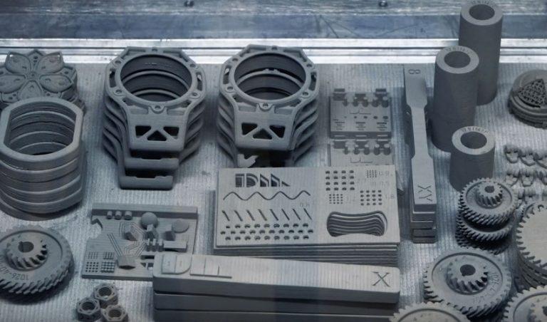 پرینت قطعات خودرو از مواد پرینت سه بعدی بازیافت شده