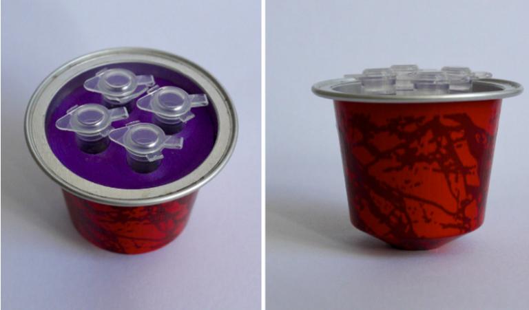توسعه کپسول قهوه دارای تست کرونا با استفاده از فناوری پرینت سه بعدی