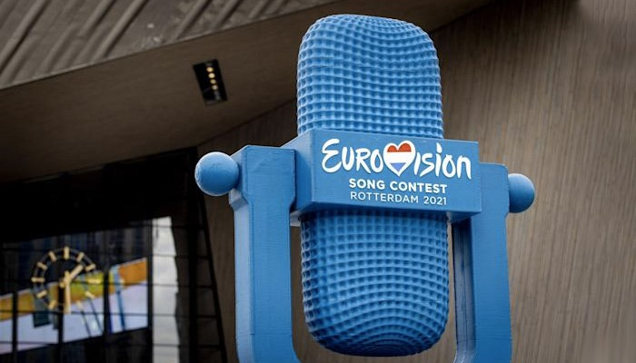 ساخت نماد مسابقه بینالمللی یوروویژن با استفاده از تکنولوژی پرینت سه بعدی