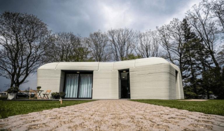 اجاره اولین خانه پرینت سه بعدی شده در هلند