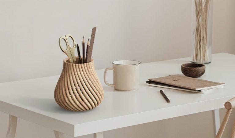 روش جدید پرینت سه بعدی چوب