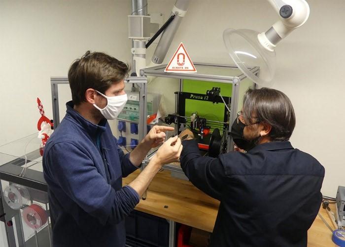 ساخت قطعات دارای خاصیت مغناطیسی با استفاده از تکنولوژی پرینت سه بعدی
