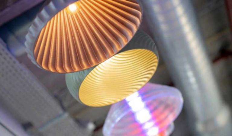 پرینت سه بعدی محصولات روشنایی جهت کاهش رد پای کربن