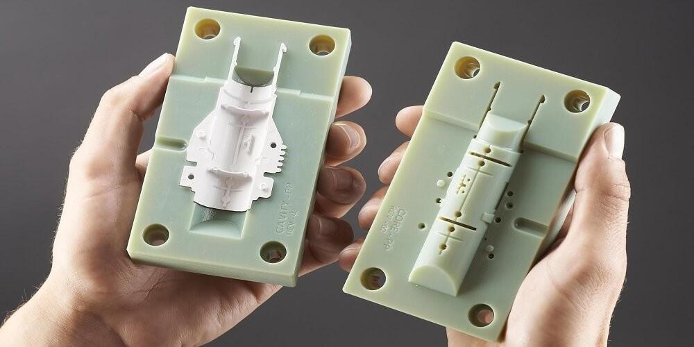 استفاده از روش قالب گیری تزریقی جهت ساخت قطعات پلاستیکی