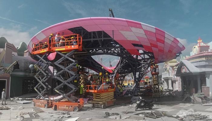 بزرگترین پاویون پرینت سه بعدی شده جهان
