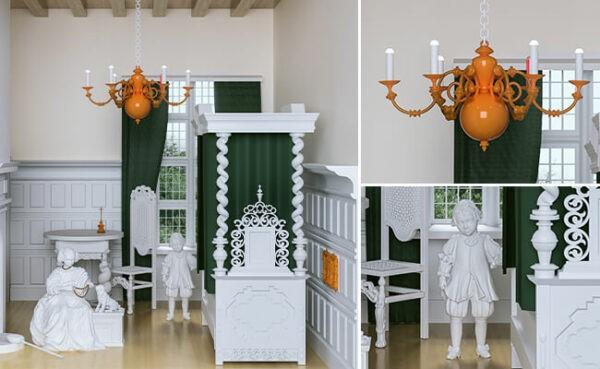 توسعه مجموعه آثار هنری با استفاده از تکنولوژی پرینت سه بعدی در موزه کهربا