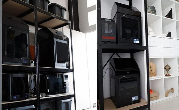 فرایند پرینت سه بعدی آثار هنری موزه کهربا