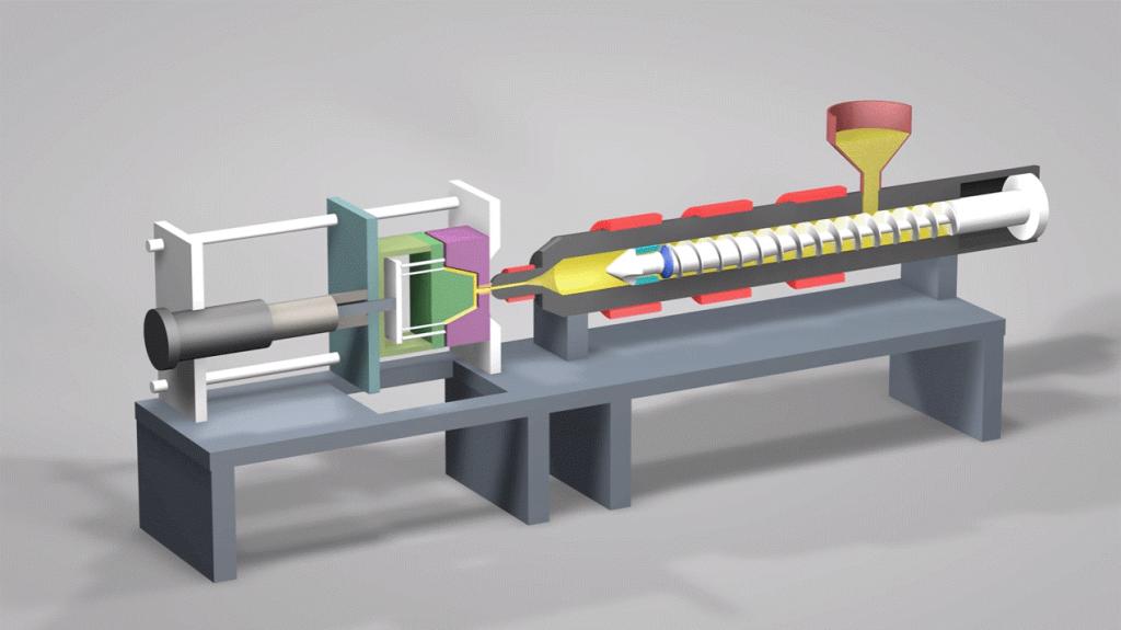 کاربردهای فناوری تزریق پلاستیک
