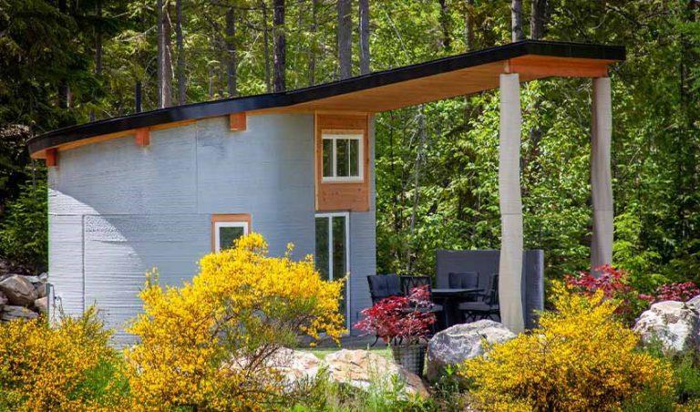 اجاره خانه پرینت سه بعدی شده به گردشگران