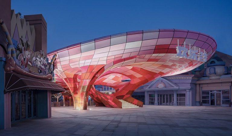 پرینت سه بعدی بزرگترین پاویون جهان در چین