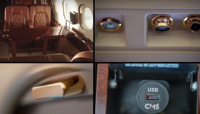 ساخت قطعات هواپیماهای لوکس برای مدیریت کابین با استفاده از تکنولوژی پرینت سه بعدی