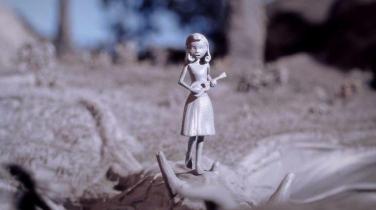 پرینت سه بعدی قطعات یک انیمیشن