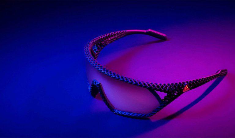 پرینت سه بعدی عینک آفتابی توسط شرکت آدیداس