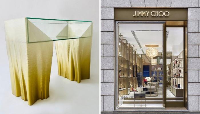 ساخت مجموعه مبلمان لوکس شرکت جیمی چو با استفاده از تکنولوژی پرینت سه بعدی