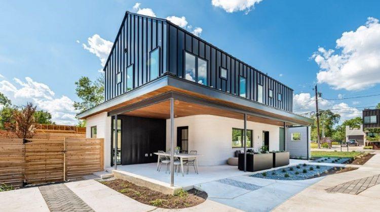فروش خانه پرینت سه بعدی شده در ایالات متحده